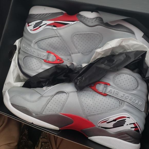 Jordan Shoes   Retro 8 Reflective